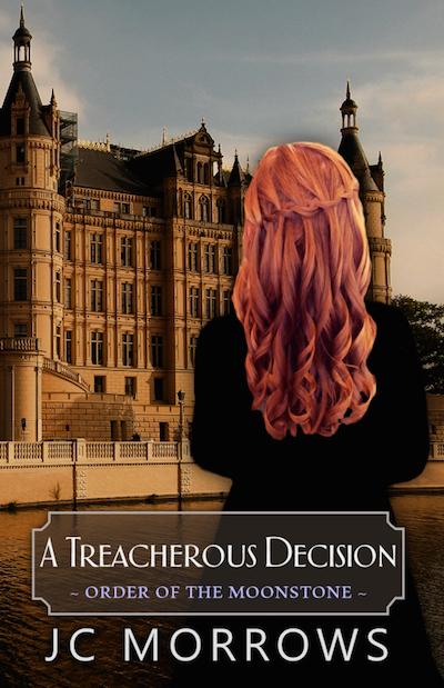 JC Morrows - A Treacherous Decision Cover
